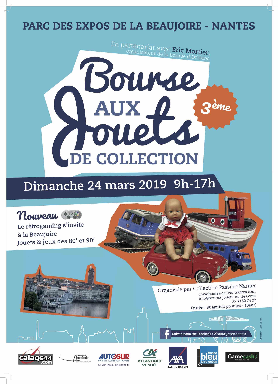 3ème Bourse aux jouets de collection Nantes Rezé @ Parc des Expos de la Beaujoire, Nantes | Rezé | Pays de la Loire | France