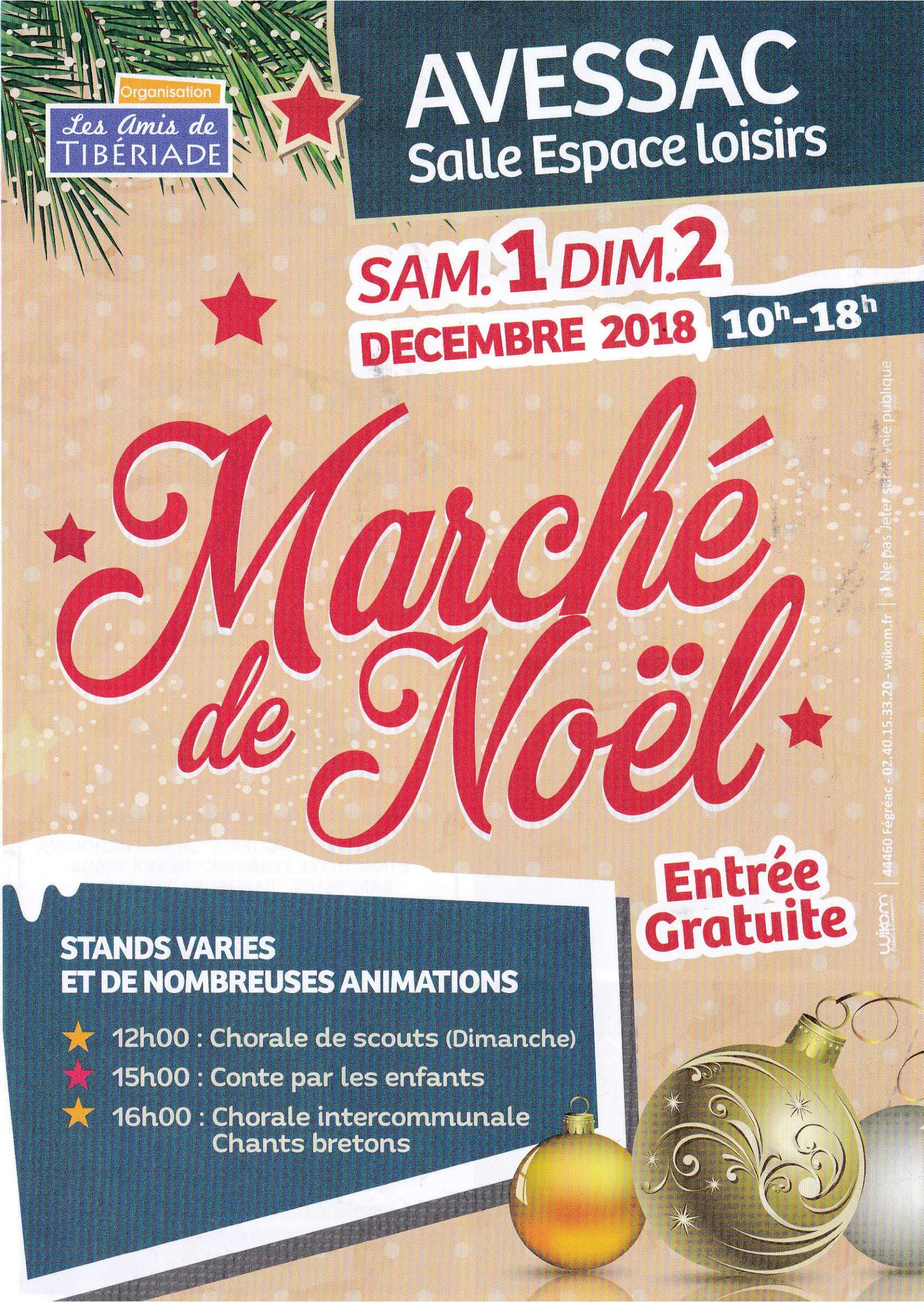 Marche Noel Avessac 2018